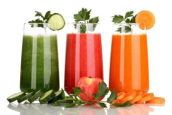 طريقة عمل عصير الخضار الصحي