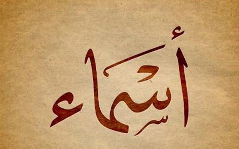 معنى اسم اسماء في اللغة العربية وفي القرآن الكريم وفي المنام وصفات حاملة اسم اسماء