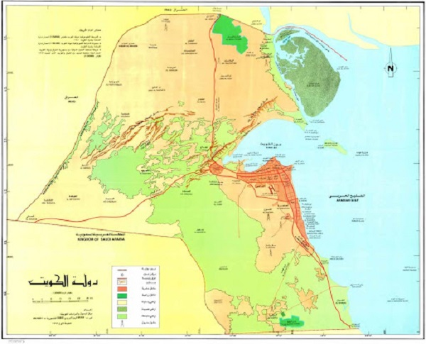 الخريطة الكلية