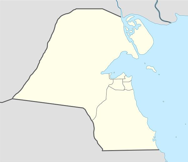 خرائط مختلفة للكويت