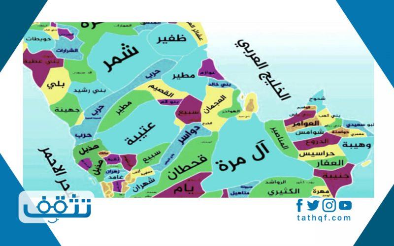 اسماء القبائل السعودية وأهم العادات والتقاليد التي تخص كل قبيلة