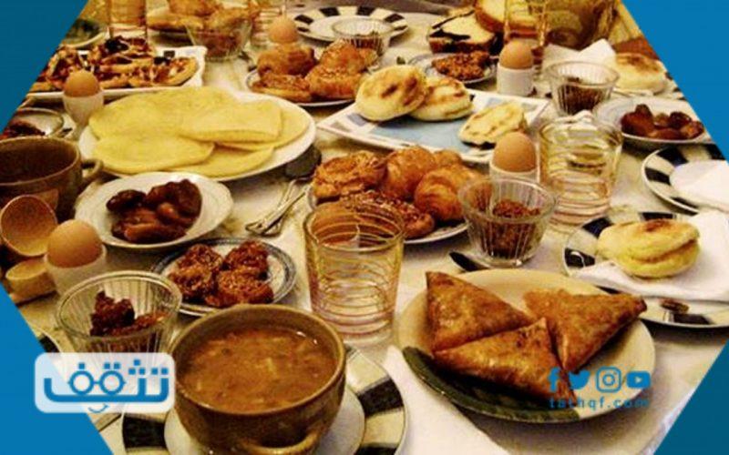 افضل فطور صحي في رمضان
