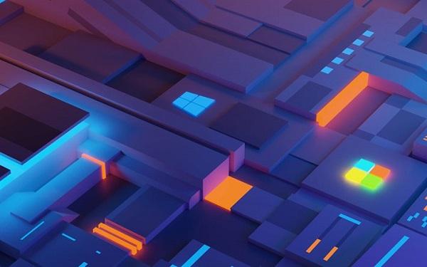 خلفيات ويندوز 10 ثلاثية الابعاد
