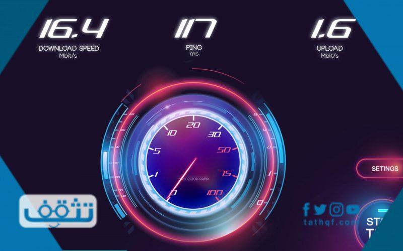 سبيد تست لقياس سرعة النت وعدد من المواقع الأخرى