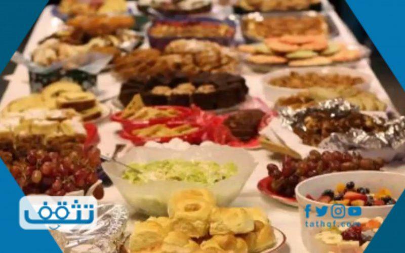 أفضل سفرة فطور رمضان