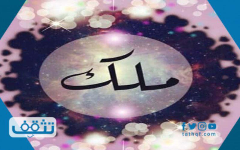معنى اسم ملك وصفات حامل الاسم وحكم التسمية به