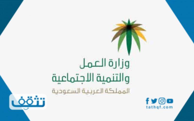 وزارة العمل الخدمات الالكترونية اصدار رخصة عمل