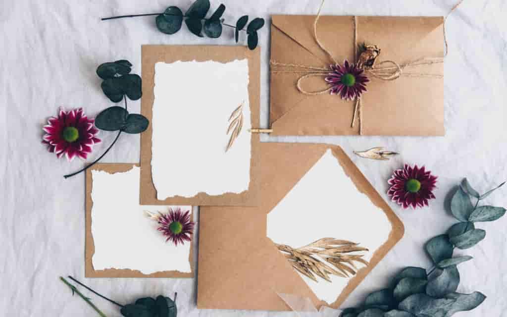 أشكال جديدة لبطاقات دعوة الزفاف