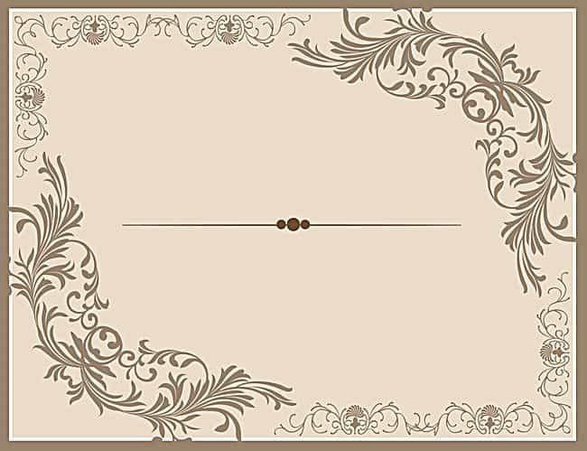 بطاقات دعوة الزفاف متنوعة التصاميم