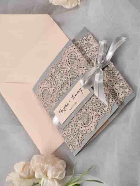 بطاقة دعوة زواج جاهزة فارغة